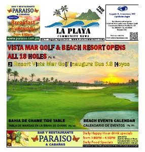 La Playa Panama Vol 7, August 2013