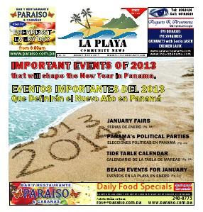 La Playa Panama - Volume 12, January 2014