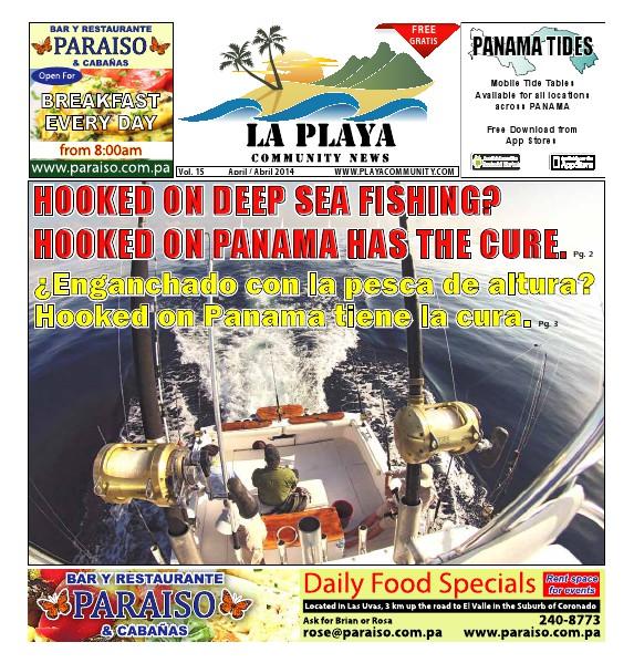 La Playa Panama - Volume 15, April 2014