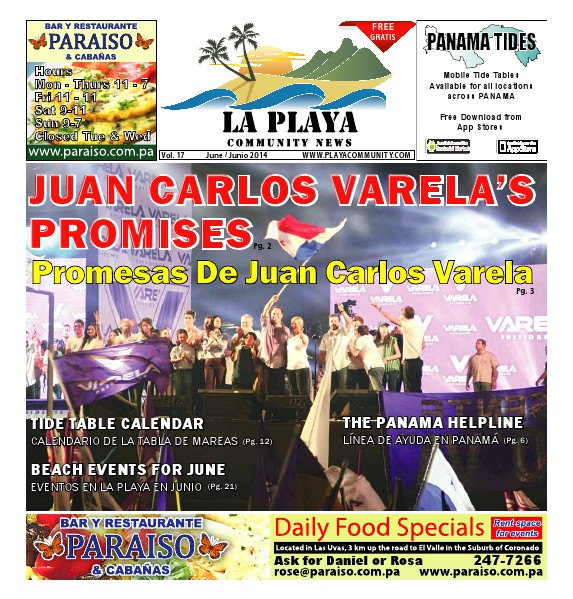 La Playa Panama - Volume 17, June 2014