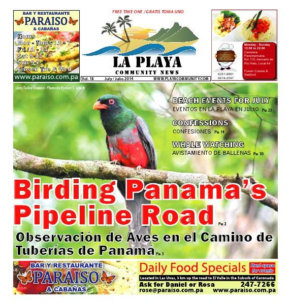 La Playa Panama - Volume 18, July 2014