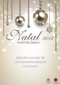 ComVida Quiaios - Natal 2013 Menu