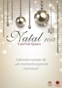 ComVida Quiaios - Natal 2013