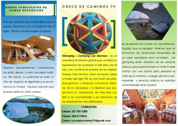GLAMPING CONCEPTO TURÍSTICO brochure cruce ultima ver