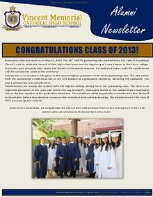 VMCHS Alumni Newsletter