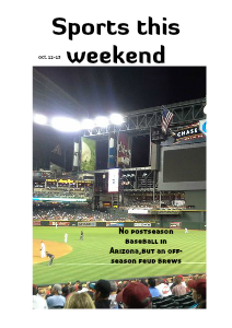 Az weekend sports Vol 1 No. 1