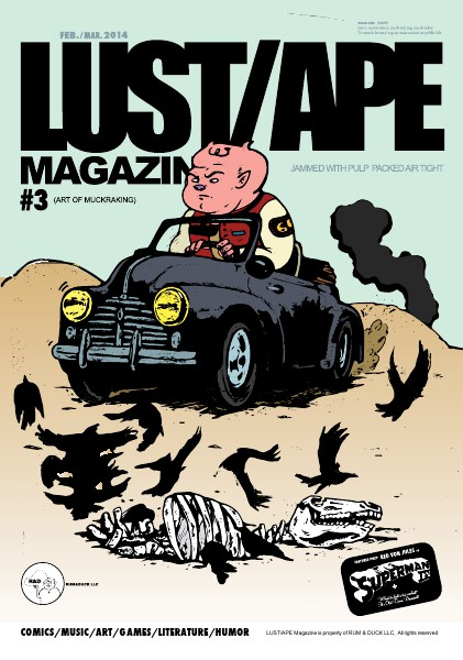LUST/APE Magazine February/March 2014