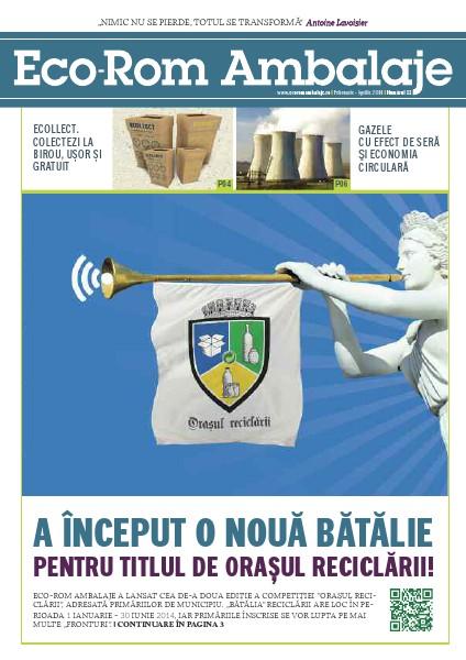 Revista Eco-Rom Ambalaje , Nr.11 Februarie - Aprilie 2014