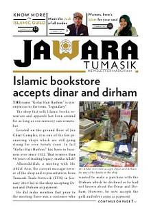 JAWARA Tumasik Newsletter