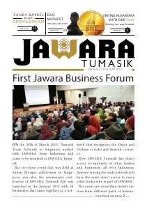 JAWARA Tumasik Newsletter Issue 02