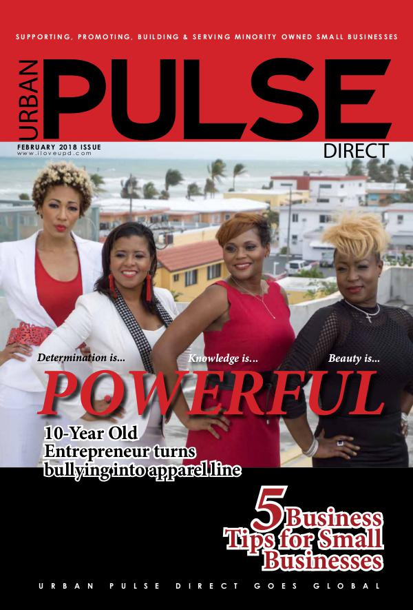 Urban Pulse Direct Winter 2018 2nd Edition