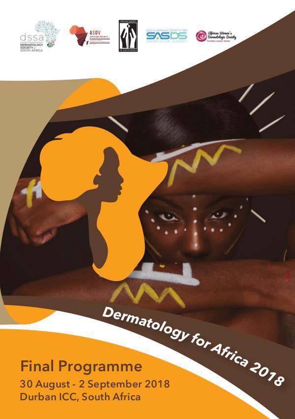 Dermatology For Africa Congress 2018 Programme_Book_-_Final_V2_k24o6r