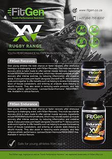 FitGen Rugby Range