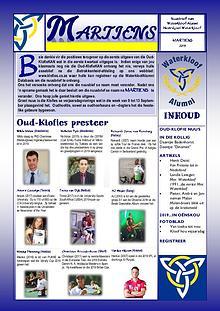 Waterkloof Alumni Nuusbrief