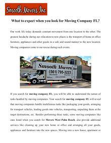 Moving company west palm beach