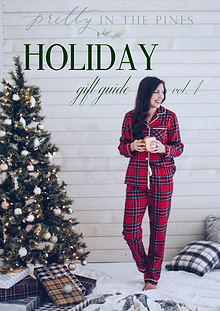 Pretty in the Pines Holiday Magazine
