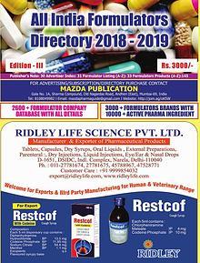 All India Formulators Directory