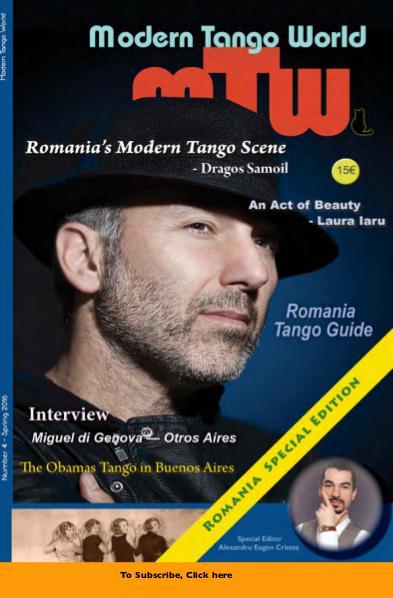 Modern Tango World N° 4 (Bucharest, Romania)