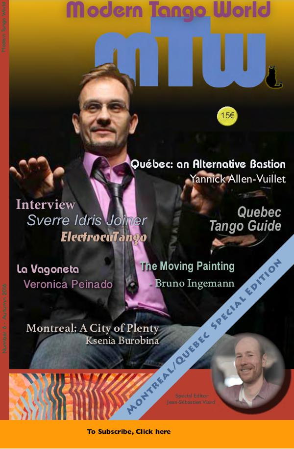 Modern Tango World N° 6 (Montreal, Quebec)