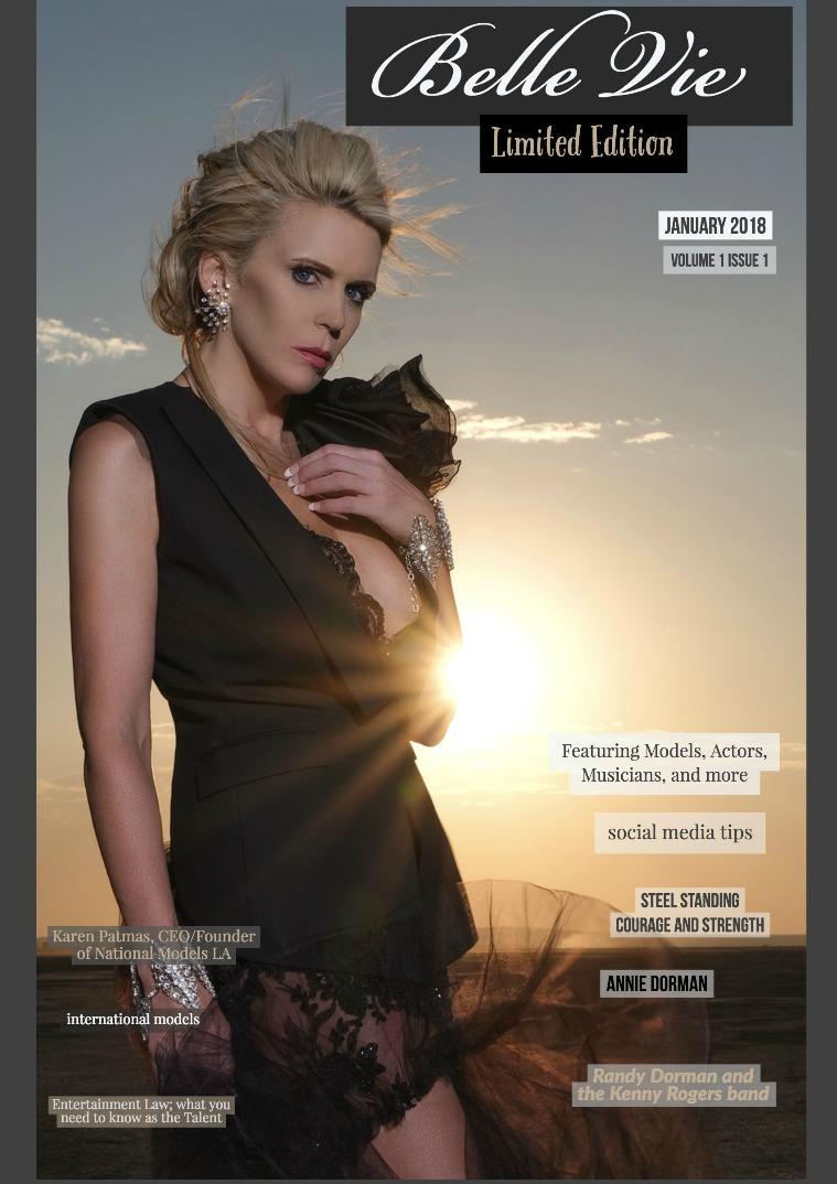 Belle Vie Magazine January 2018 Volume 1 Issue 1