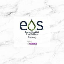 EOS dōTERRA Convention 2017 Pop-Up Shop Catalog