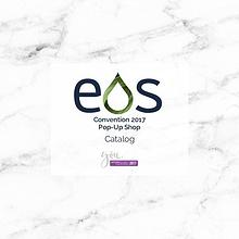 EOS dōTERRA Convention 2017 Pop-Up Shop Catalog
