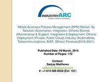 Mobile Business Process Management Market: the US leads with high bus