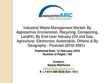 Industrial Waste Management Market: increasing expenditure for hazard