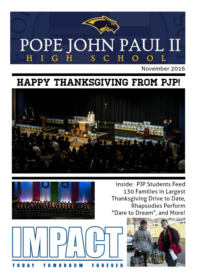 PJP's IMPACT Magazine November 2016