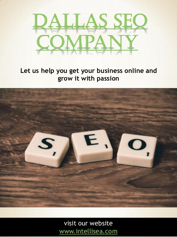 Marketing Companies Fort Worth | intellisea.com Dallas SEO Company | intellisea.com