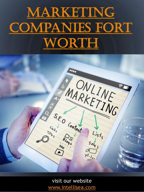 Marketing Companies Fort Worth | intellisea.com Marketing Companies Fort Worth | intellisea.com
