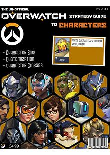 The un-official guide to Overwatch Characters 2nd published