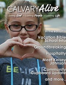 Calvary Alive, June 2017