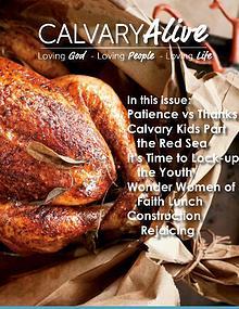 Calvary Alive, Nov 2018