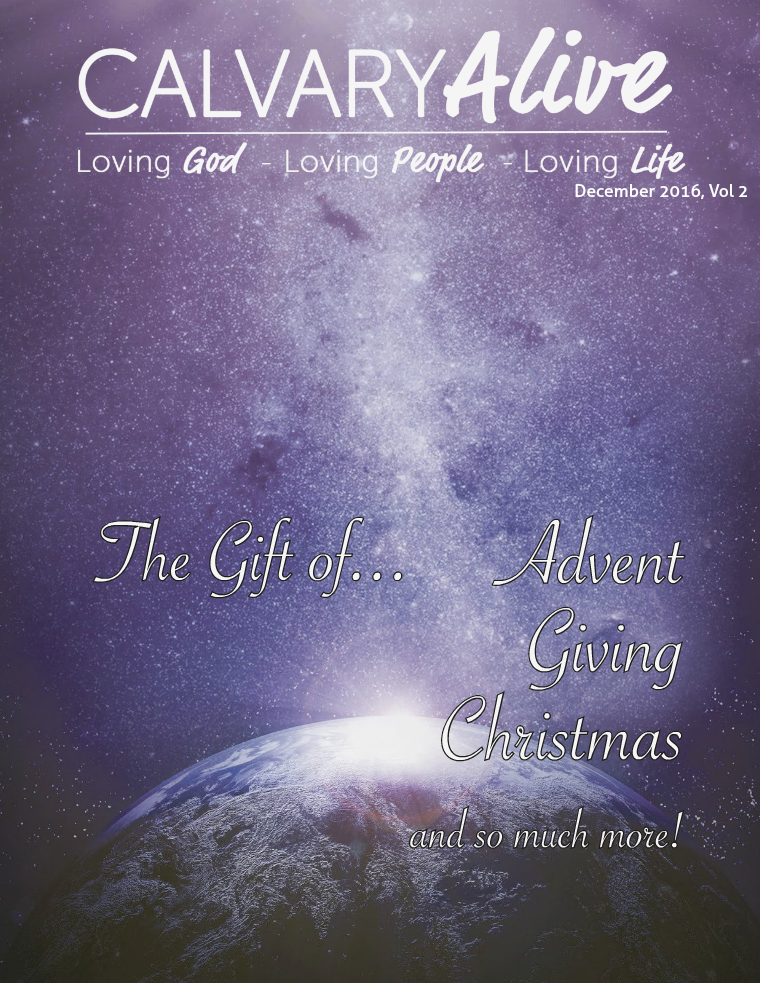 Calvary Alive Newsletter 2016 December