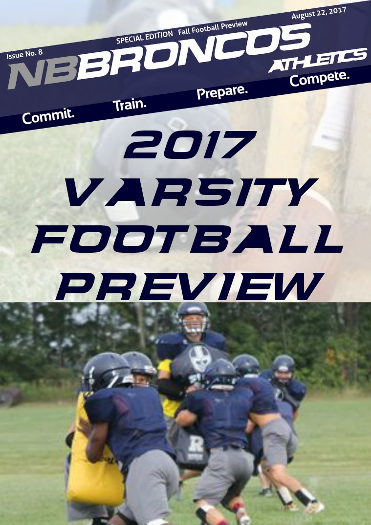 Issue 8 Varsity Football Preview