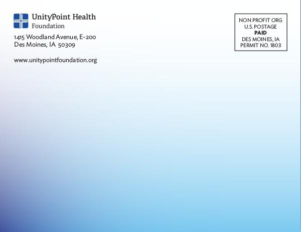 2015  Donor Journal Unity Point Health Foundations