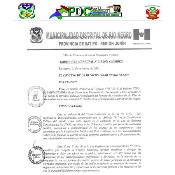 Planificación Estratégica para el Desarrollo Local
