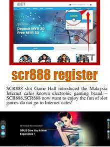 scr888 bonus