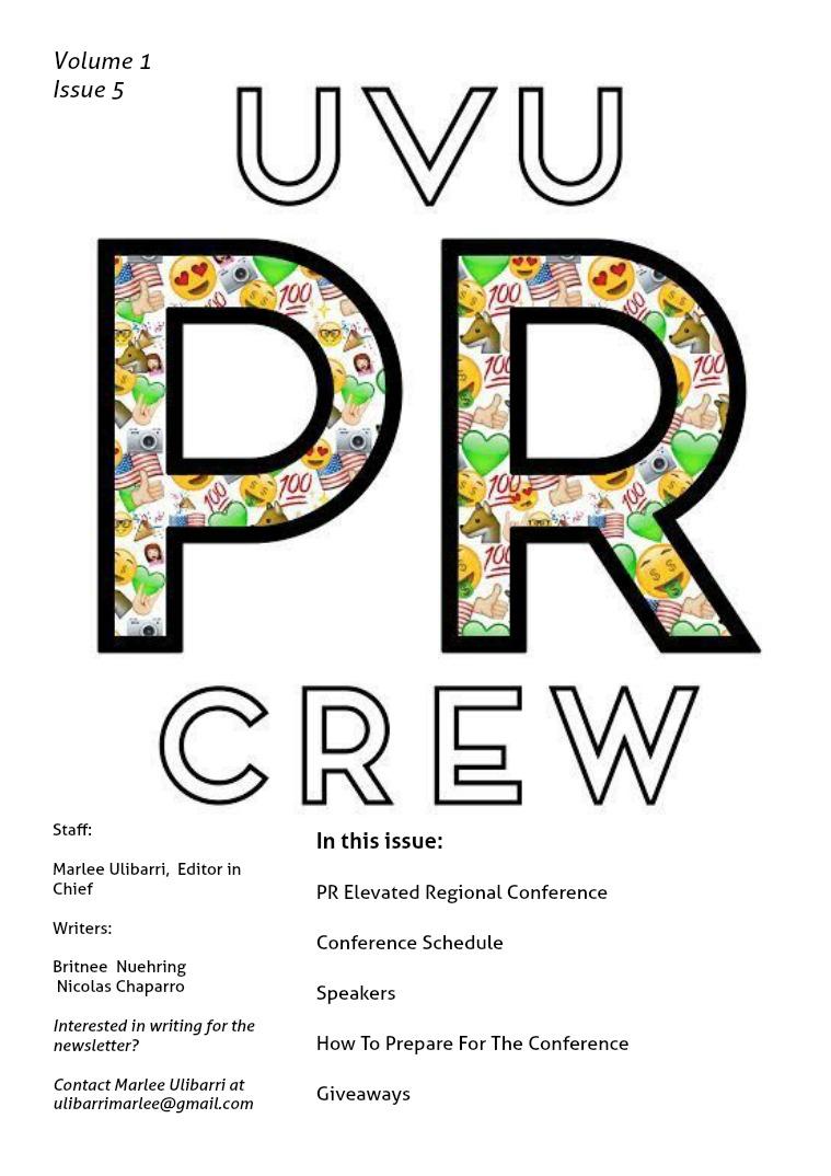 UVU PR CREW Issue 5