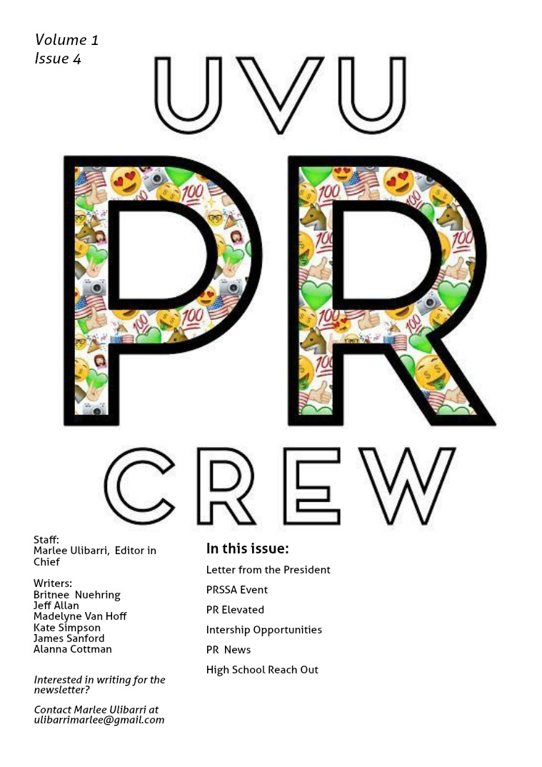 UVU PR CREW Issue 4