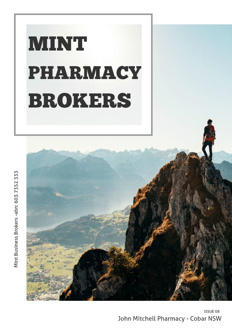 Archive Pharmacy Listing Magazines John Mitchel Pharmacy, Cobar