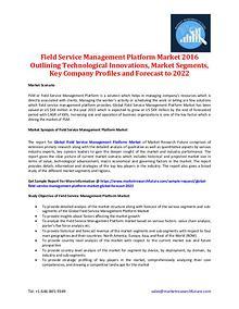 Field Service Management Platform Market