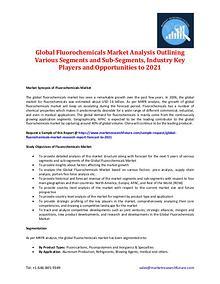 Global Fluorochemicals Market Analysis 2016-2021
