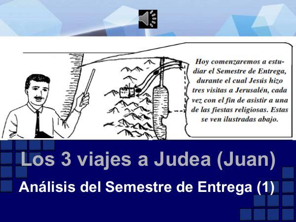 Tutorial Bíblico Los tres viajes a Judea