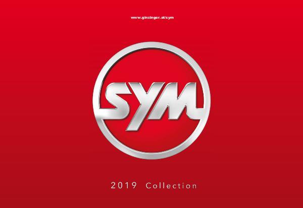 SYM Katalog 2019