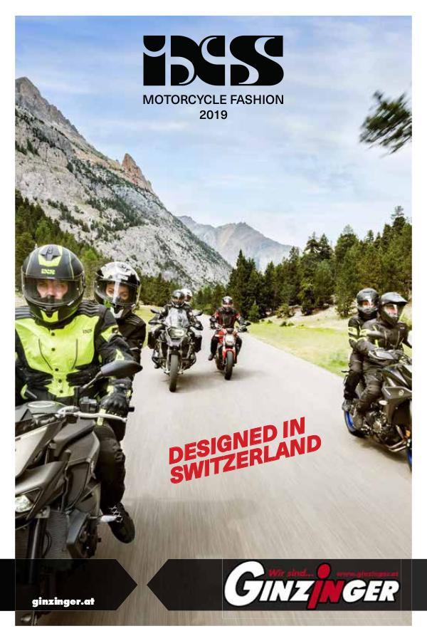 Zubehör und Bekleidung iXS Katalog 2019