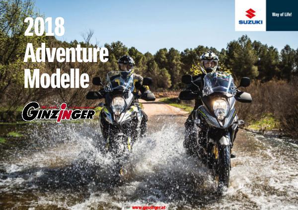 Suzuki Kataloge Suzuki Adventure 2018