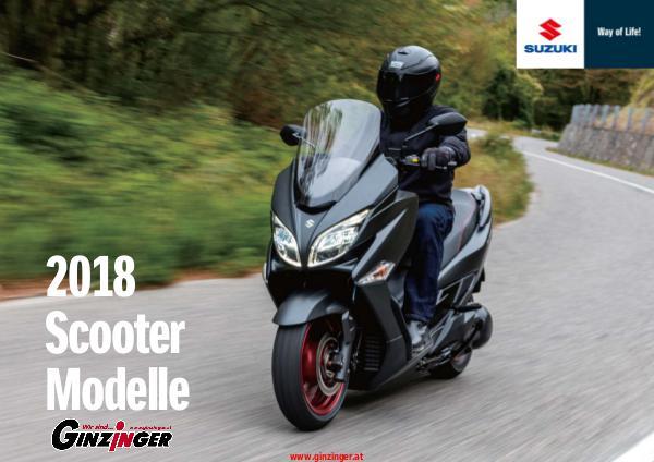 Suzuki Modelle bei Zweirad Ginzinger Suzuki Scooter 2018