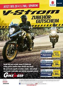 Ginzinger Aktionen 2018 Motorrad & Scooter & Moped